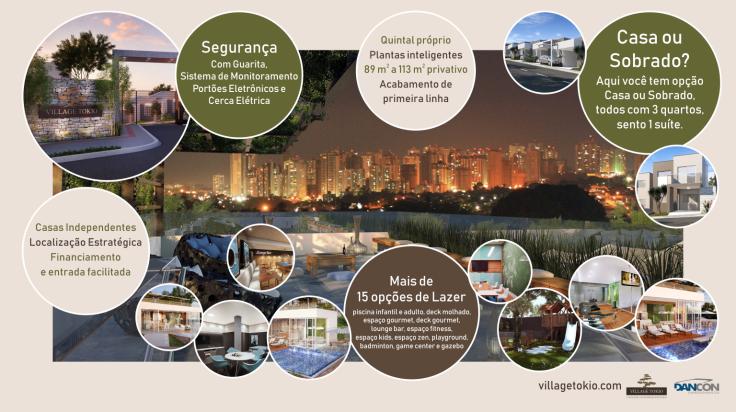 Village Tokio Infográfico