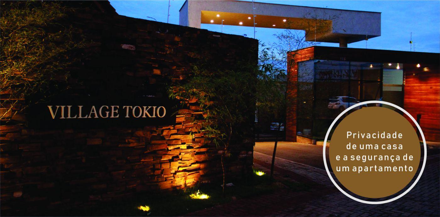 Village Tokio - Segurança de um apartamento com a privacidade de uma casa