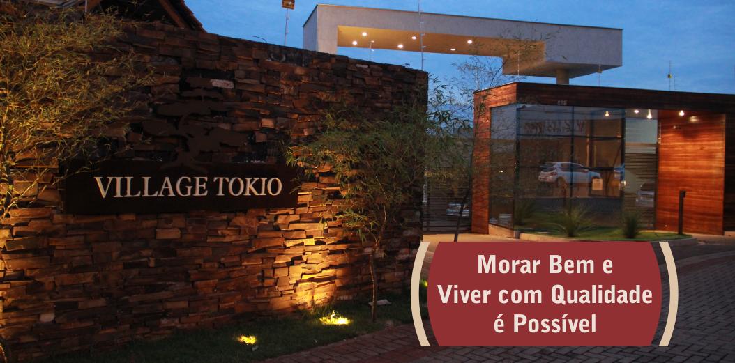 Morar bem e viver com qualidade é possível - Village Tokio, casas em condomínio fechado.