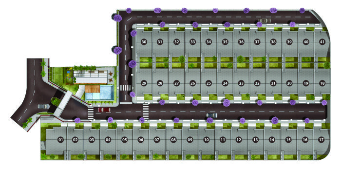 Village Tokio Site Implantação