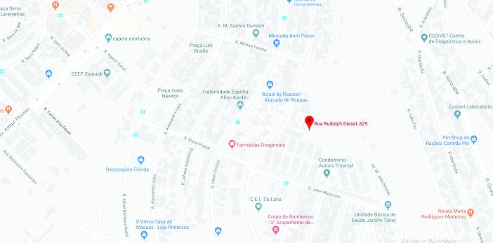 Mapa Localização | Village Tokio