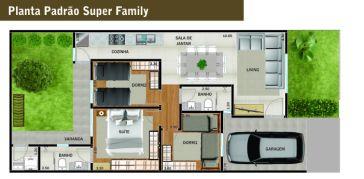 Village Tokio Site Planta Padrão Super Family