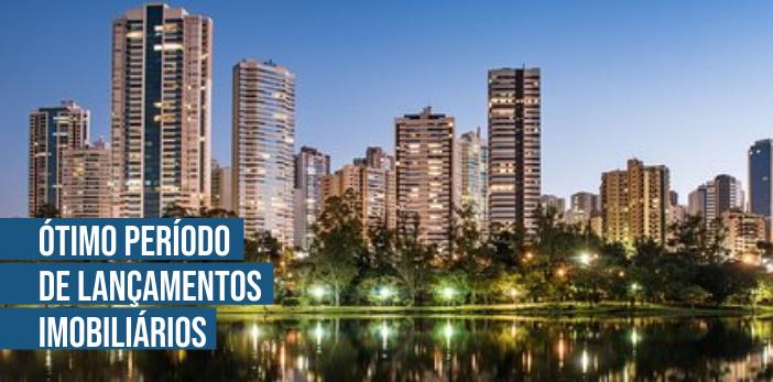 Período Cheio de Lançamentos Imobiliários. Em Londrina e no Paraná os lançamentos cresceram.